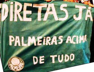 O Palmeiras em primeiro lugar!