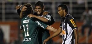 Luan fez o último gol da história dos mata-matas entre Palmeiras e Atlético