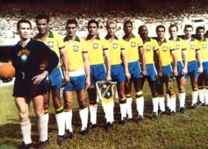 Quando o Palmeiras representou o Brasil, lá esteve Djalma Santos